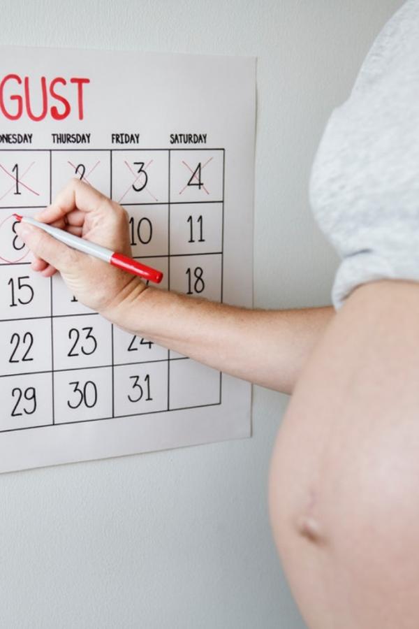 Brzydki wpis o ciąży
